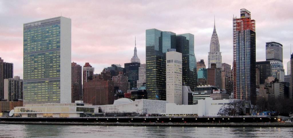 Il quartier generale delle Nazioni Unite a New York