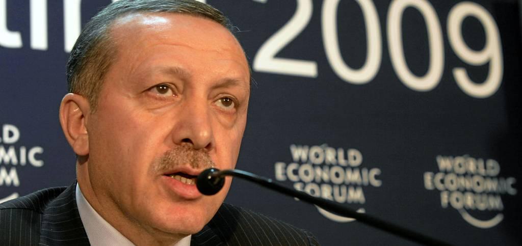 Il primo ministro turco Recep Tayyip Erdoğan