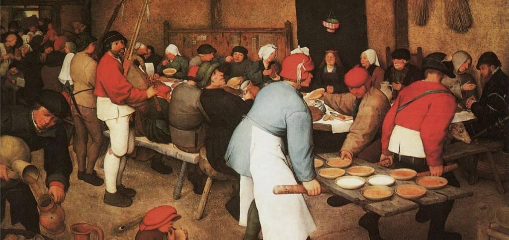 Risultati immagini per parabola degli invitati a cena